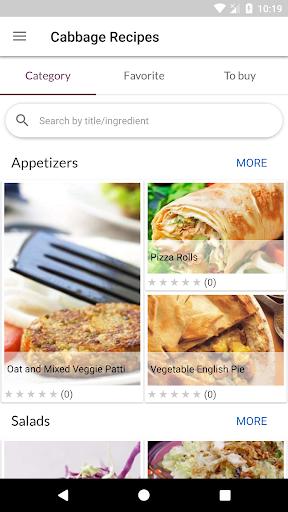 Cabbage Recipes 1.07 screenshots 1