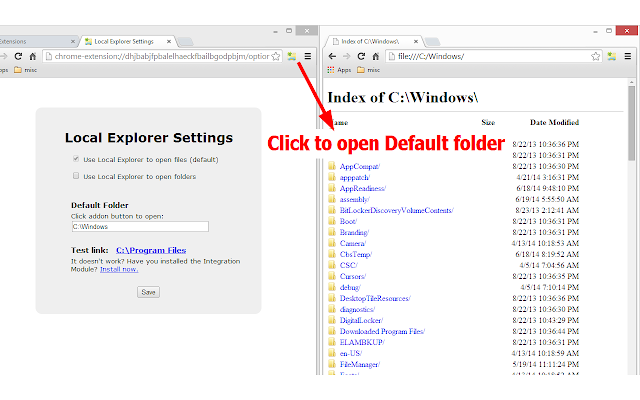 open pdf files in chrome browser