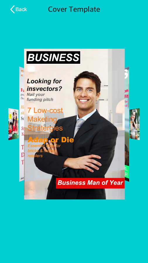 Magazine Cover Page Maker