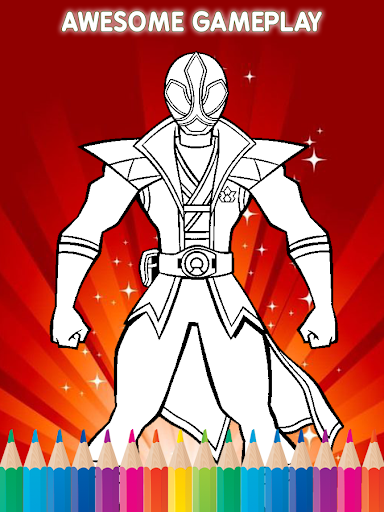 ⚡ Coloring for Power Rangerse for PC