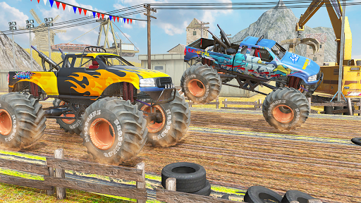 Xtreme Destruction Monster Truck Stunts  screenshots 5