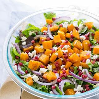 Butternut Squash Fall Salad Recipe