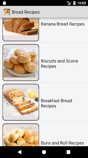 bread recipes - quick bread, banana bread recipes screenshots 1