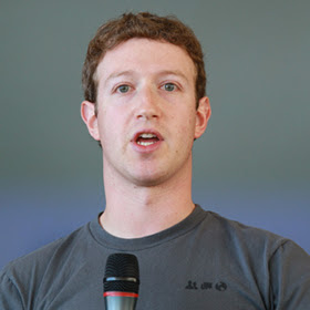 Mark Zuckerberg, founder @Facebook