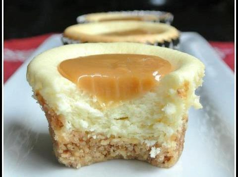 Caramel Cheesecake Bites Recipe
