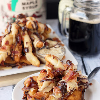 Loaded Maple Bacon Donut Fries.