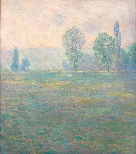 "claude-monet-meadow-at-giverny.jpg -  Claude Monet, ""Meadows at Giverny,"" 1888, at the Hermitage at St. Petersburg, Russia."