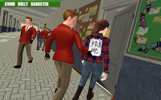 High School Gangster Bully Fights Karate Girl Game 1.1 screenshots 6