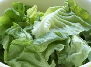 Rinse lettuce well and separate the leaves set aside to drain. You want the...