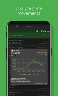 Crypto Tracker - Bitcoin, Ethereum + more tracker - náhled