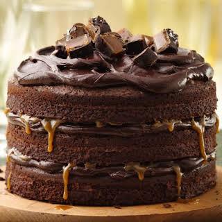 Tall, Dark and Stout Chocolate Layer Cake.