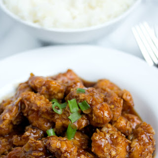 Lightened Up General Tso's Chicken