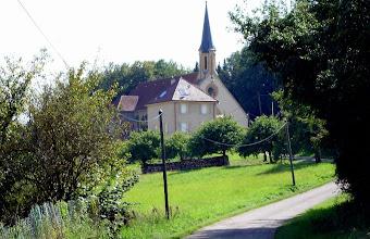 Photo: Die Kirche von Leiding