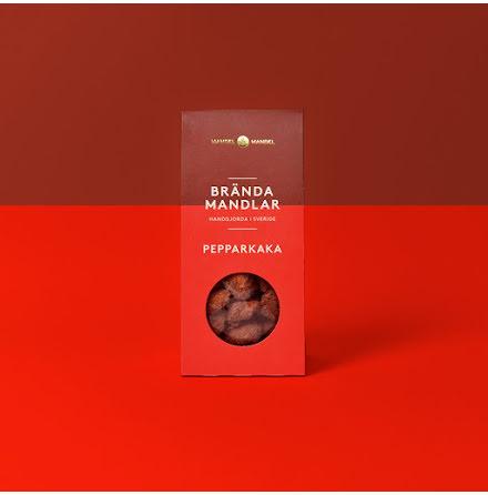 Kanderad mandel Pepparkaka