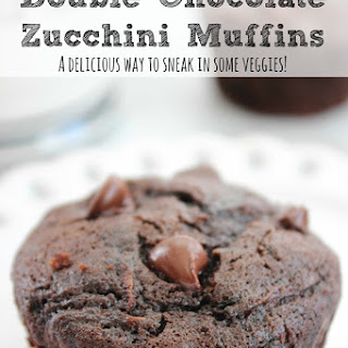 Double Chocolate Zucchini Muffins.
