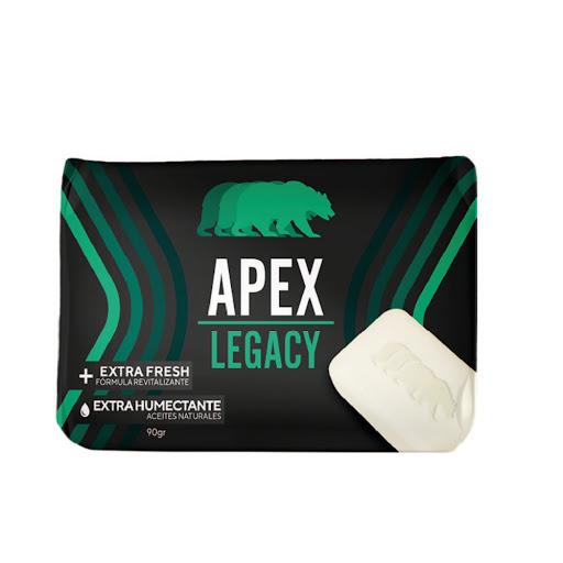 jabon en barra apex legacy 90gr