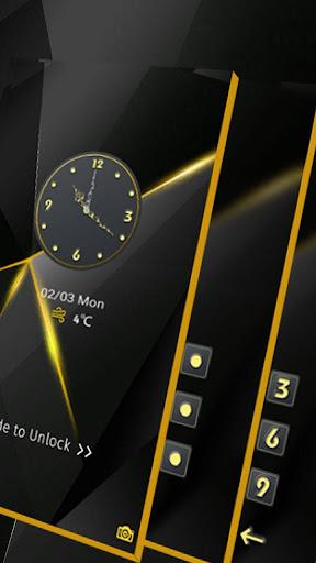 Black Luxury Theme for Huawei screenshot 6
