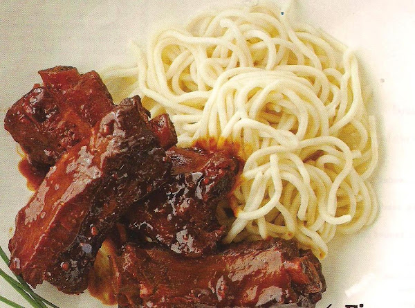 Shanghai Style Pork Ribs For The Slow Cooker Recipe