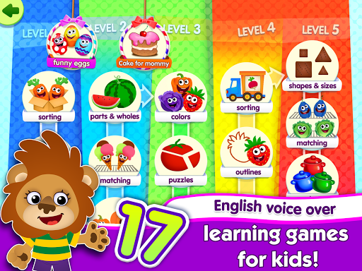 FunnyFood Kindergarten learning games for toddlers  screenshots 5