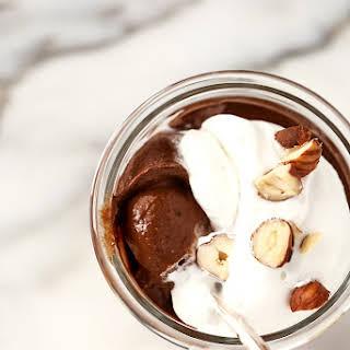 "Vegan Hazelnut & Chocolate ""Nutella"" Pudding."