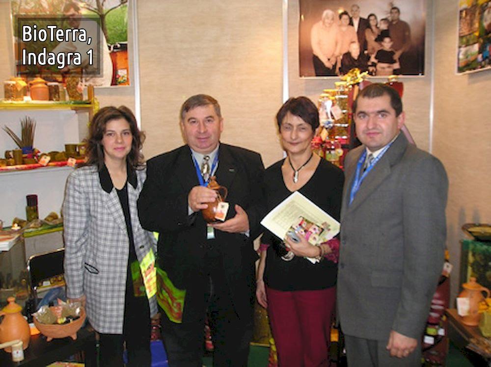 Bioterra la târguri şi expoziţii: Indagra, Agraria, Harmony Wellness Fair