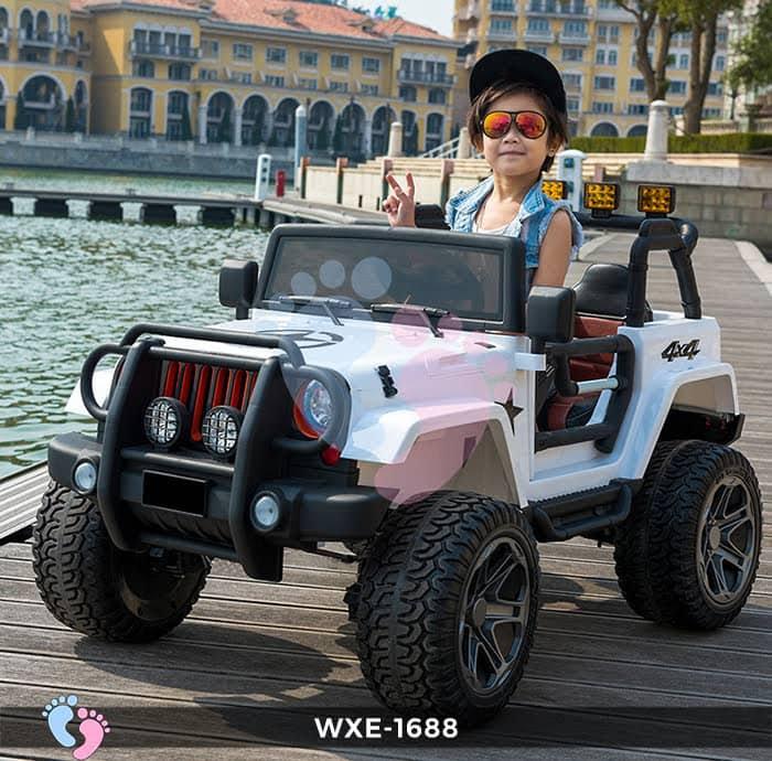 Xe oto điện trẻ em WXE-1688 2 chỗ ngồi 2