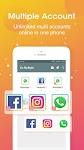 screenshot of DO Multiple Accounts - Infinite Parallel Clone App