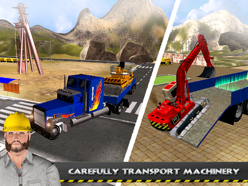 玩免費模擬APP|下載重型道路挖掘機起重機 app不用錢|硬是要APP