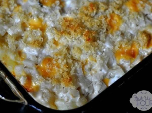 Liquid Gold Cheesy Party Potatoes Recipe