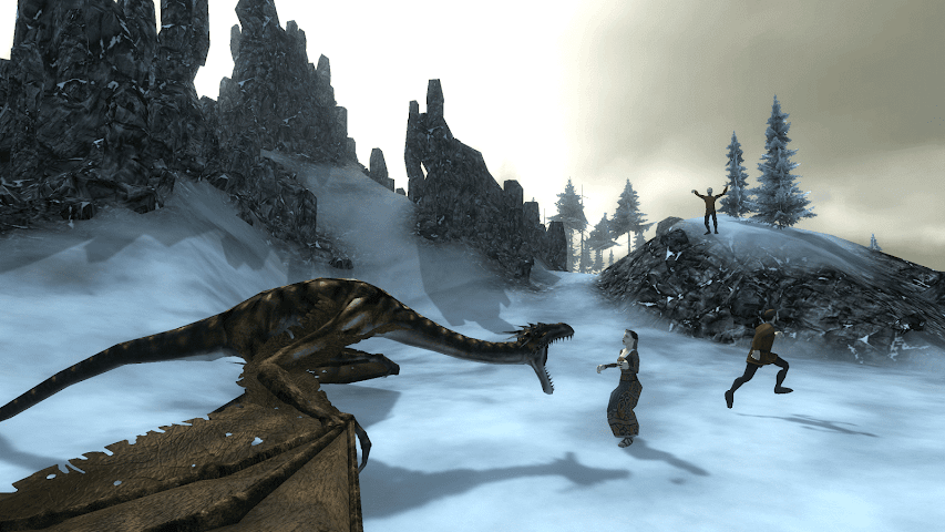 android Wyvern Simulator 3D Screenshot 1