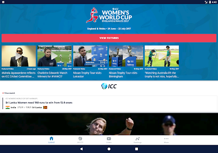ICC Cricket - Women's World Cup 2017- screenshot thumbnail