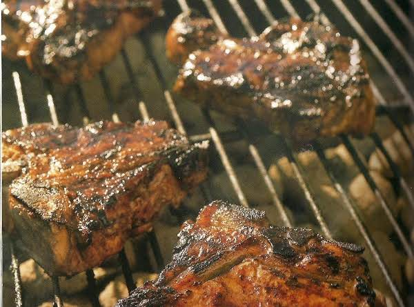 Balsamic Glazed Veal Chops Recipe