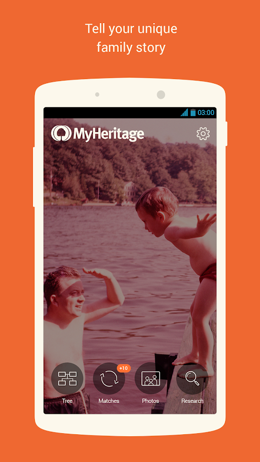 MyHeritage - screenshot