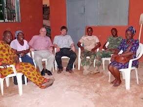 Photo: Fellowship evenings after the conference including the two army soldiers.