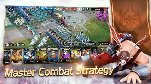 Majesty & Conquest-Magic War Strategy RPG  captures d'écran 2