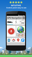 screenshot of Navigator GPS