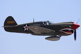 Photo: P-40E