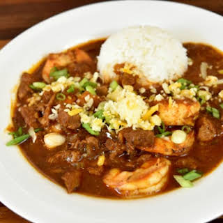 Steak & Shrimp Chili (Crock Pot Recipe).