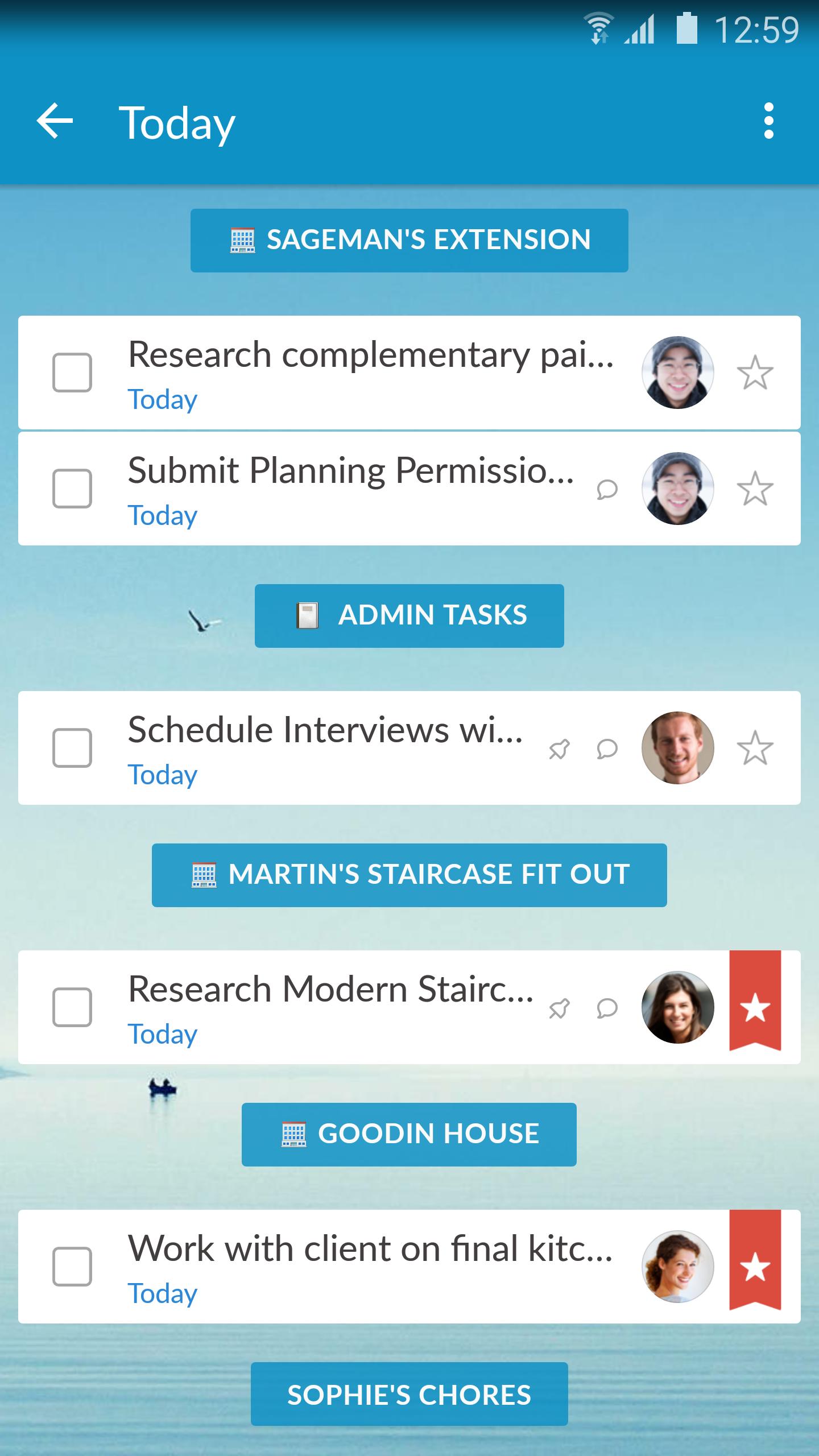 Wunderlist: To-Do List & Tasks screenshot #2