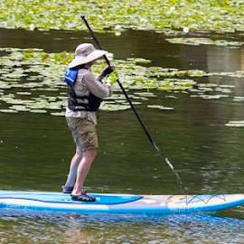 Paddle Boarding by Robert George - Sports & Fitness Watersports (  )