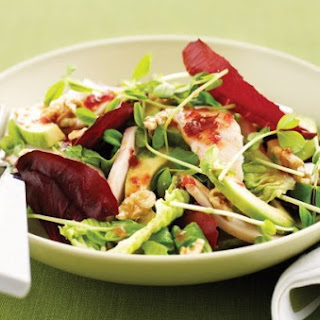 Weight Watchers Smoked Chicken and Crunchy Fruit Slaw