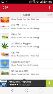Ghana Waves Radio Stations- screenshot thumbnail