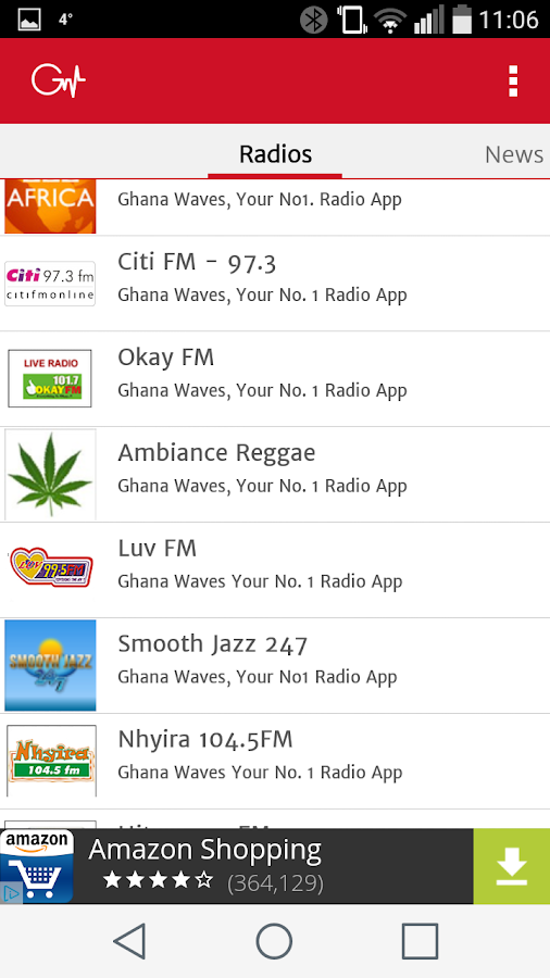 Ghana Waves Radio Stations- screenshot