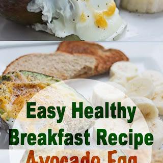 Avocado Egg Boat