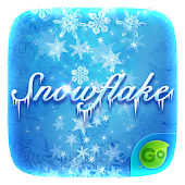 Snow Flake GO Keyboard Theme