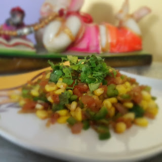Sweet and Sour Corn Salad Recipe