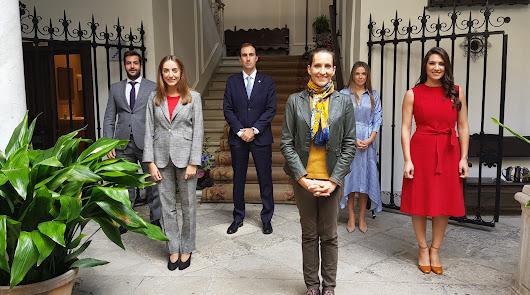 Las dos nuevas notarias de Almería toman posesión