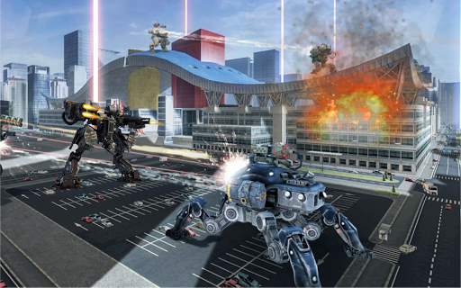 War Robots 2018: New Futuristic Battle Robots War  screenshots EasyGameCheats.pro 2