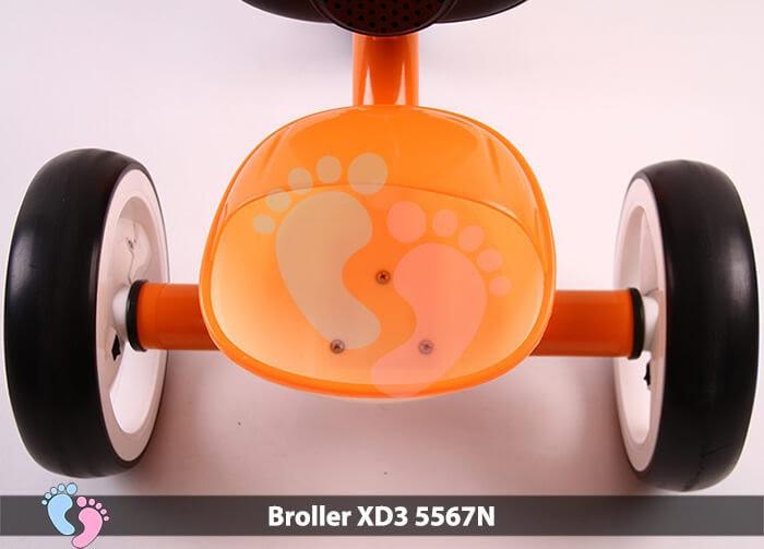Xe đạp ba bánh Broller XD3-5567N 14