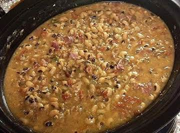 Crock Pot Black-eyed Peas & Ham